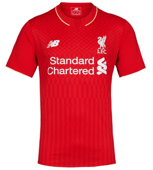 Revealed: LFC's new 2015-16 home kit - Liverpool FC