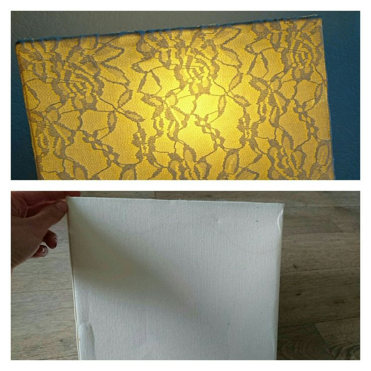 Lamp diy white lace bedroom