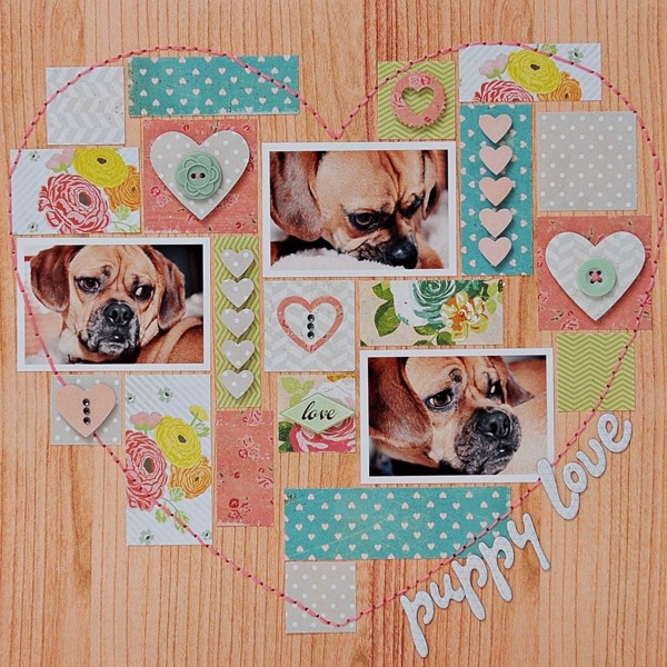 Love Theme: puppy love - Two Peas in a Bucket