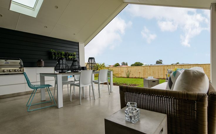 A lovely outdoor room is a highlight of this home. Great for entertaining with a kiwi BBQ!