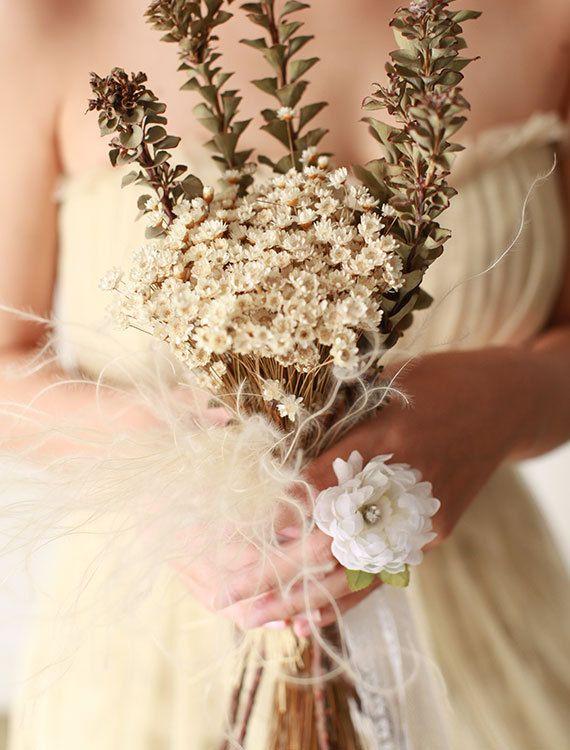 Bridal Silk Flower Ring Bridal Hair Accessory by mellowdear