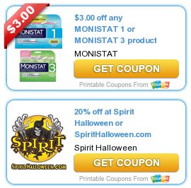 photo relating to Monistat Printable Coupons identify Discount codes $$ Fresh new Printable Discount coupons: Help save $3/1 Monistat 1 or 3