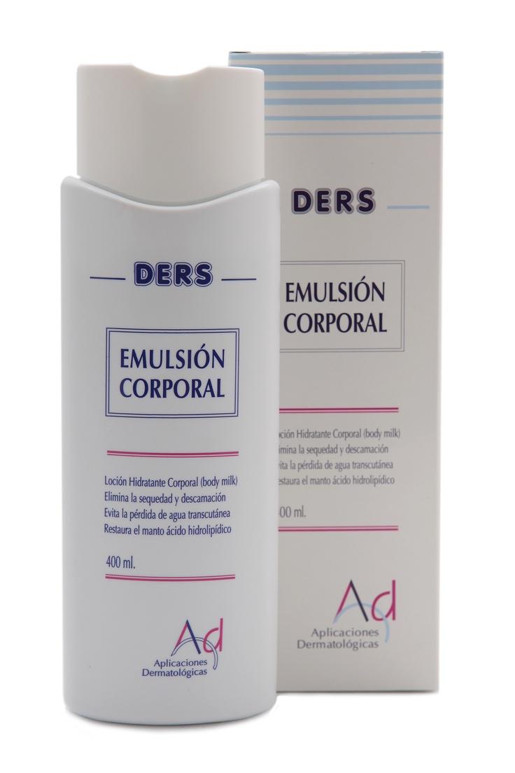 DERS Emulsion Corporal. Emulsja do ciała dla skóry suchej, atopowej, przy łuszczycy i efekcie rybiej łuski. http://www.dermokosmetyki24.pl