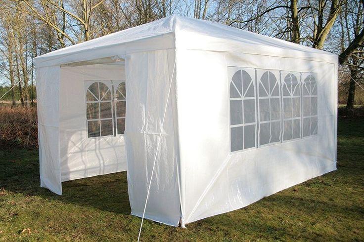 #Ebay#Gala#Party#Tent#Large#White#Heavy#Duty#Steel#Frame#Garden#Gazebo#Waterproof#New