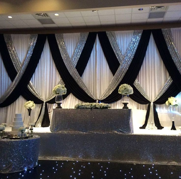 Ideas For Head Table At Wedding find this pin and more on wedding food so easy head table idea Amazing Head Table Decor From Jeff Tashas Wedding At Riverside Banquet Halls
