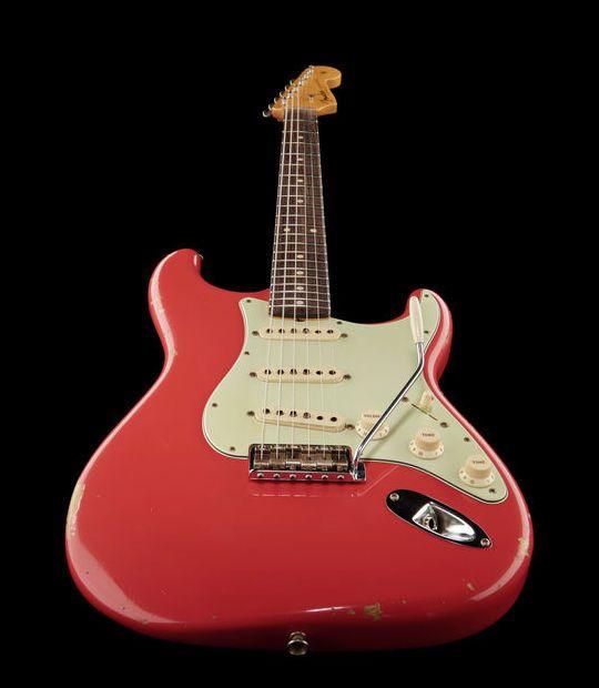 Vintage Fender elektrische Gitarren