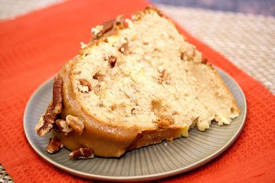 Honeyville Farms - Cookin Cousins            APPLE BUNDT CAKE WITH CREAM CHEESE FILLING