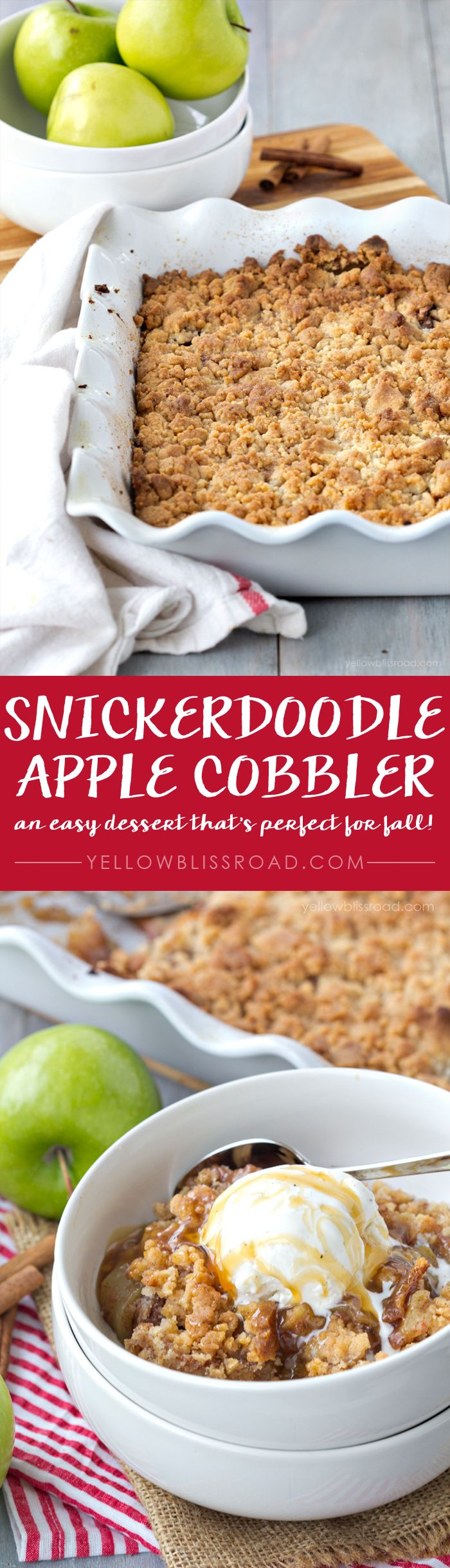 Snickerdoodle Apple Cobbler Recipe Recipe Few