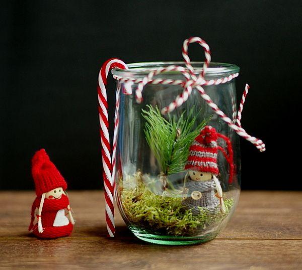 DIY   Hübsche Weihnachtsdeko Im Glas   Lifestyle Blog: Kosmetik, DIY, Deko,