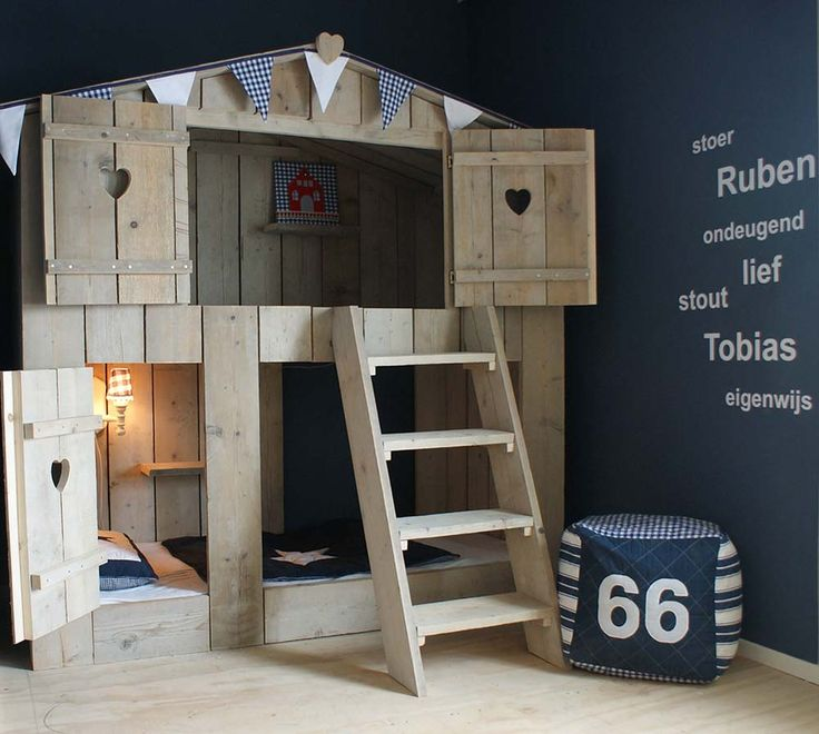 Bunk beds for Jaxon. Can I get one of these in the US? Or I wonder if my dad and Geoff can make it???