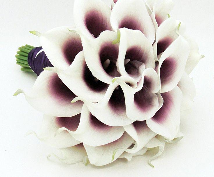 Μωβ χρώμα. Λουλούδια για γάμο