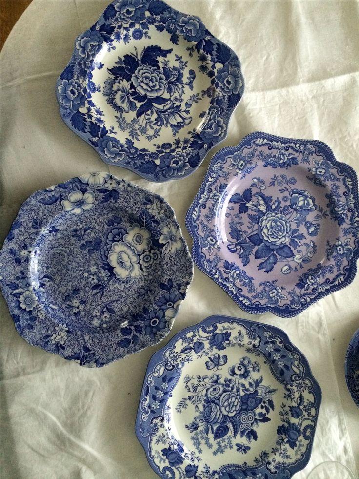 Spode Garden Series salad plates