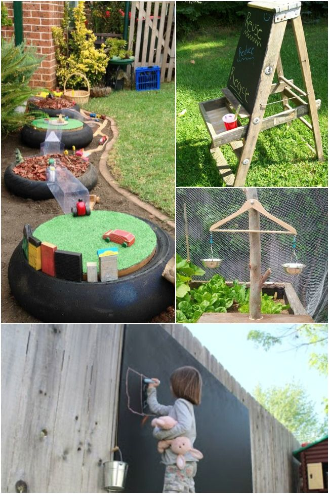 133 best images about backyard and outside the house on for Kids home playground