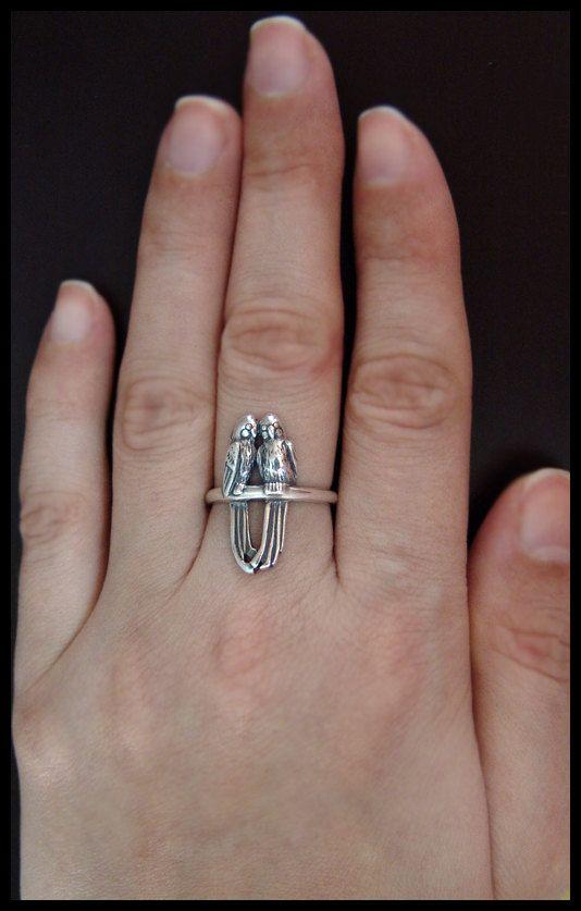 Parrot ring!
