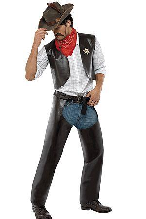 Village People cowboy kostuum. Het kostuum van de cowboy uit de disco groep de Village People. Het kostuum bestaat uit vestje, chaps, sherrif badge en bandana. Voor meer Village People kostuums kunt u ook in deze webshop terecht! Carnavalskleding 2015 #carnaval