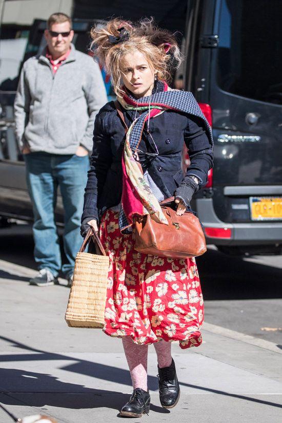 This is how Helena Bonham Carter dresses for a meeting | Tom + Lorenzo