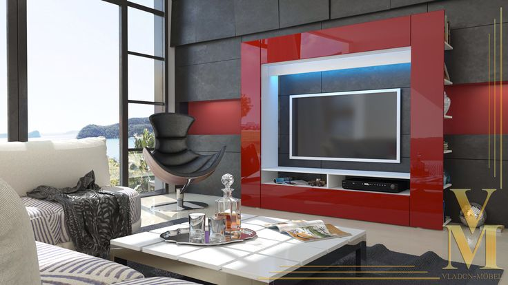Vladon mobel tv stand bordeaux red decor ideas pinterest tv stands living rooms and room - Mobile salotto tv ...