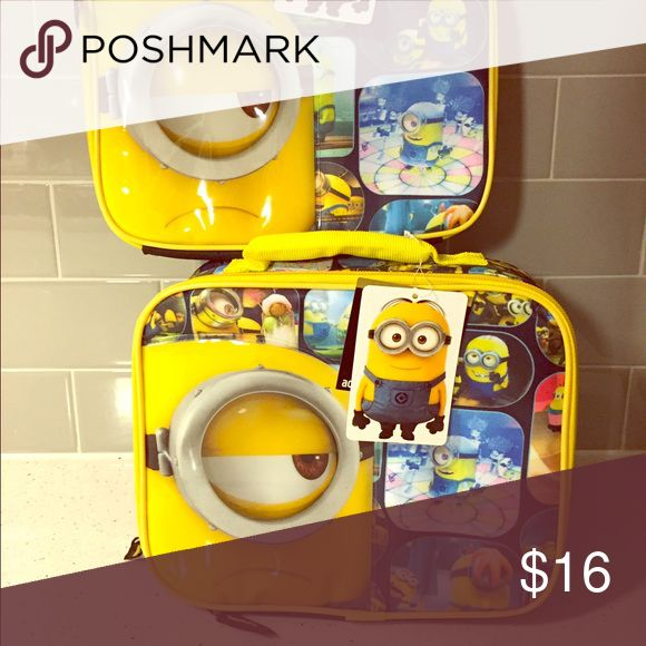 Minions lunch box Brand new with tag. $16 for both item pictured. Check out my other listings, and feel free to ask questions. Thanks! minions Other