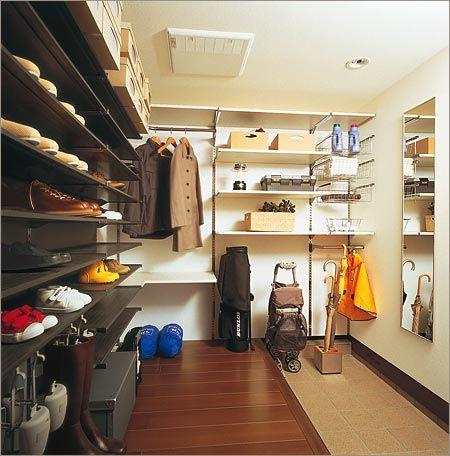 生活デザイン収納 | ミサワホーム : 玄関