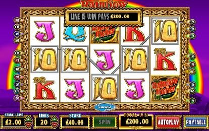 Play Barcrests Rainbow Riches slot machine online for free, or with money.  Play Rainbow Riches -- http://www.rainbowrichesslotmachine.org.uk/