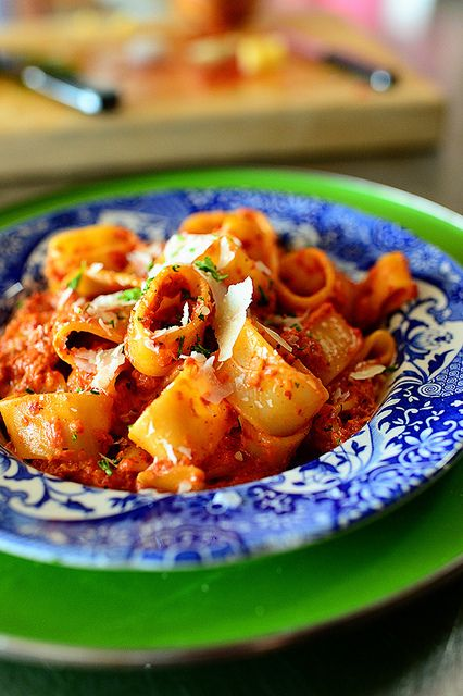 Roasted Red Pepper Pasta from the Pioneer Woman