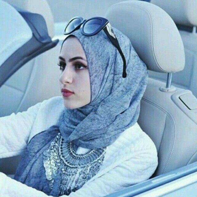 Modest hijab fashion.