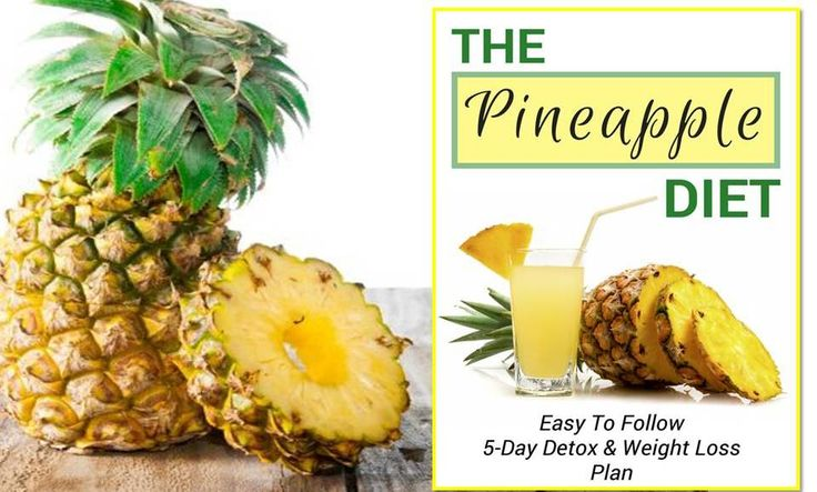 Benefits of Eating Pineapple: The Pineapple Diet for Detoxifying the Body - Healthy Positive Mind -