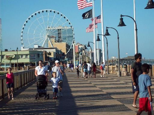 Myrtle Beach Boardwalk | Myrtle Beach Boardwalk | Myrtle Beach Things To Do | Holiday Pavilion