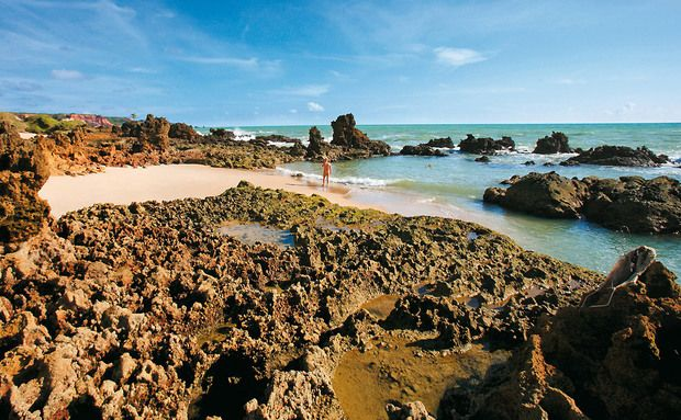 PRAIA TAMBABA - Praia nudista Tambaba, Conde, Paraíba