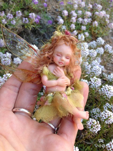OOAK Baby Fairy Order for DA by FantasyArtDolls on Etsy