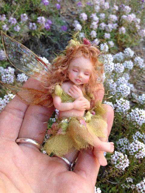 OOAK Baby Fairy Order for DA by FantasyArtDolls on Etsy