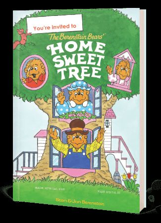 Hooray! Fun new book birthday! The day is FINALLY here and we are bear-y excited! For the first time ever, you can personalize The Berenstain Bears Home Sweet Tree for your very own cub!  AND, if you order on 7/16/13, you can save 15% by using promo BEARS15!