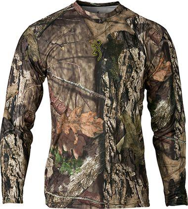 BROWNING Browning Vapor Max Long Sleeve Shirt Breakup Country Large, EA