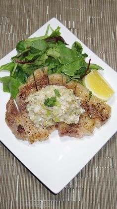 トンテキ!皆さん豚肉美味しく焼けますか?牛ステーキとはまた違う焼き方。柔らかく焼けますよ!厚切り豚ロース肉等にどうぞ。