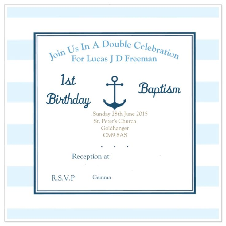31 best joint christening first birthday images on pinterest rough design of invites filmwisefo