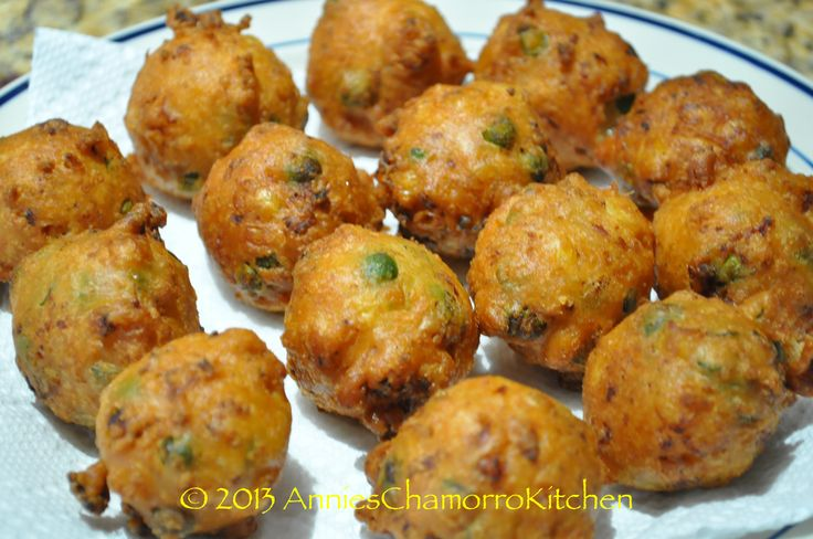 SHRIMP PATTIES - a delicious fritter made with shrimp and your favorite vegetables (I like corn, green beans and peas).