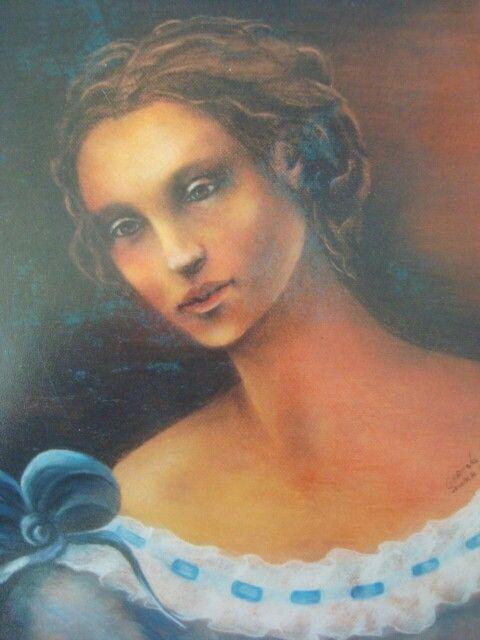 MUJER---Tecnica  Pastel   Carmela...