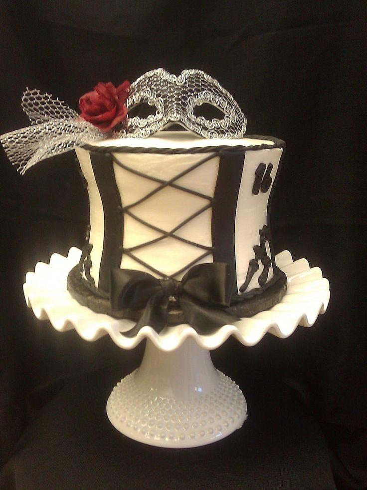 corset cake | Sweet Sixteen Corset Cake with Cake Pops