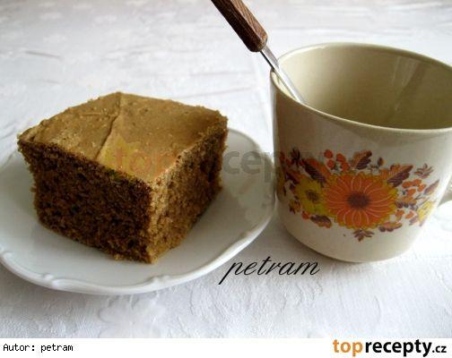 Koláč Nescafé bez lepku, mléka a vajec