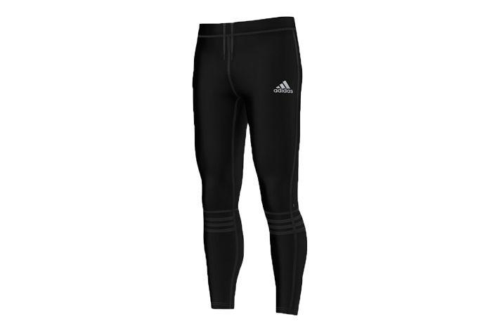 #Adidas Response Long Tight M - męskie, długie getry biegowe. Zapewniają optymalne zarządzanie wilgocią i odprowadzaniu jej nadmiaru na zewnątrz. Zastosowano w nich płaskie szwy redukujące ryzyko otarć. Polecane na wiosenną i jesienną porę. #getry #jesienzima2015 #dlugie