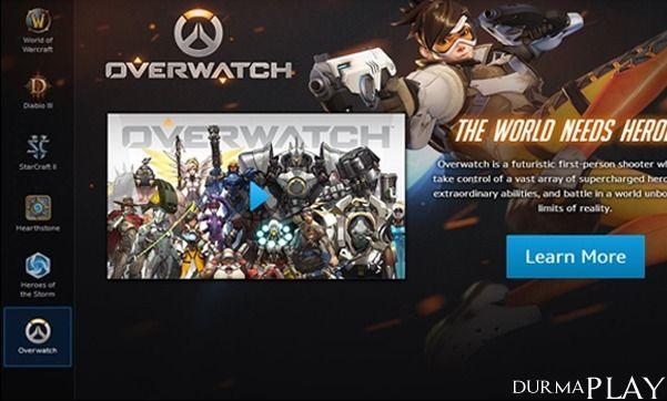 http://play.tc/overwatch-battle-net-launcherda-yerini-aldi/  Blizzard'in PC platformu için gelistirdigi birinci sahis nisanci oyunu Overwatch kisa süre önce Battle Net Launcher üzerindeki yerini aldi