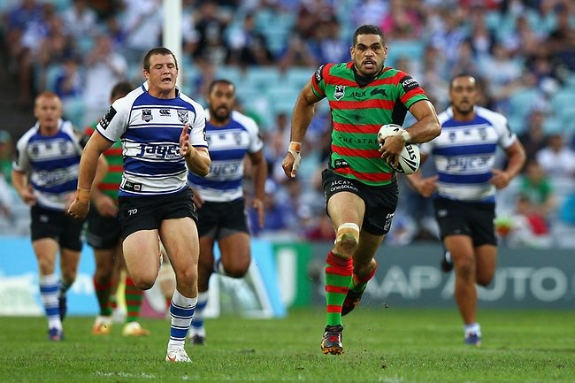 Greg Inglis on the fly