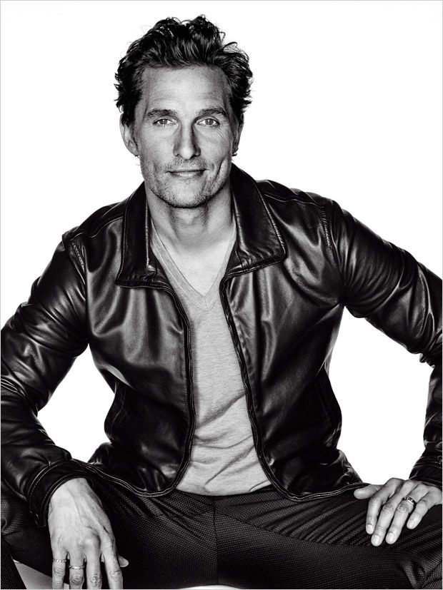 Matthew McConaughey | L'Optimum Magazine's December 2014 / January 2015 edition captured by celebrity photographer Eric Ray Davidson.
