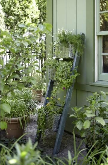 14 Ways To Reuse Old Ladders