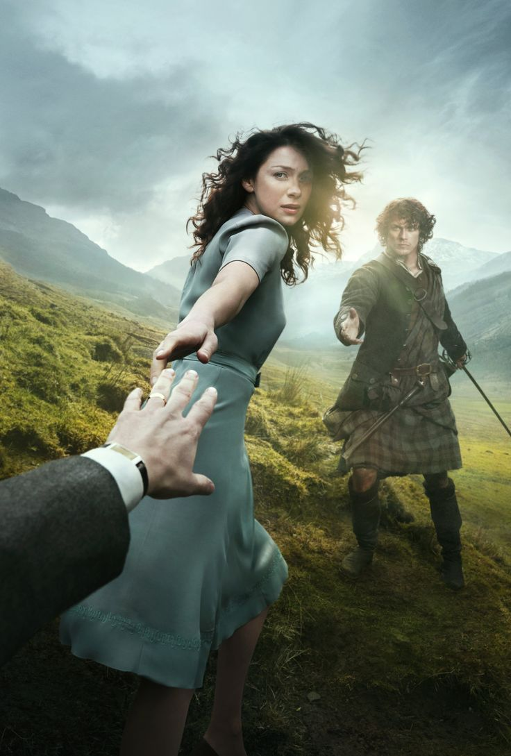 Outlander - Claire Randall and Jamie Fraser