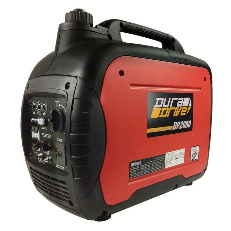 Duradrive dp2000 2 000w ultraquiet lightweight gas