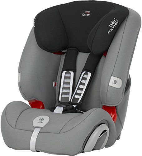 Britax Romer Evolva Combination Car Seat (Group 1/2/3, Steel Grey) by Britax   Reassurance built-in - CLICK & SAFE? harness tensioning confirmation;Easy adjustment - height Read  more http://shopkids.ca/britax-romer-evolva-combination-car-seat-group-123-steel-grey-by-britax/