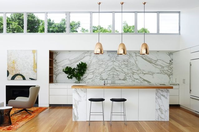 Marble + Copper The Pavilion House by Arent&Pyke.