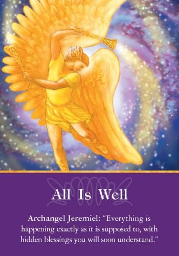 Oracle Card All is Well | Doreen Virtue | official Angel Therapy Web site