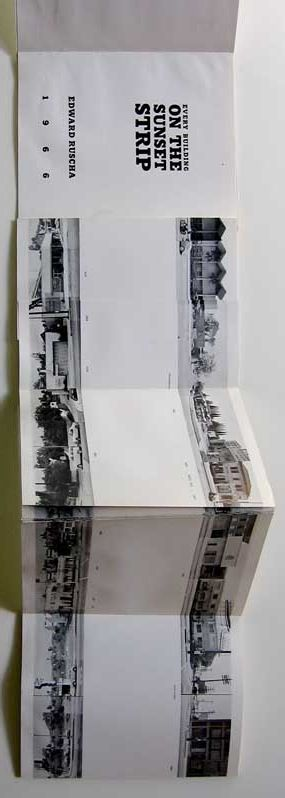 """Edward Ruscha """"EVERY BUILDING ON SUNSET STRIP"""", Self Published, 1971. First Edition, Limited 1000 copies"""